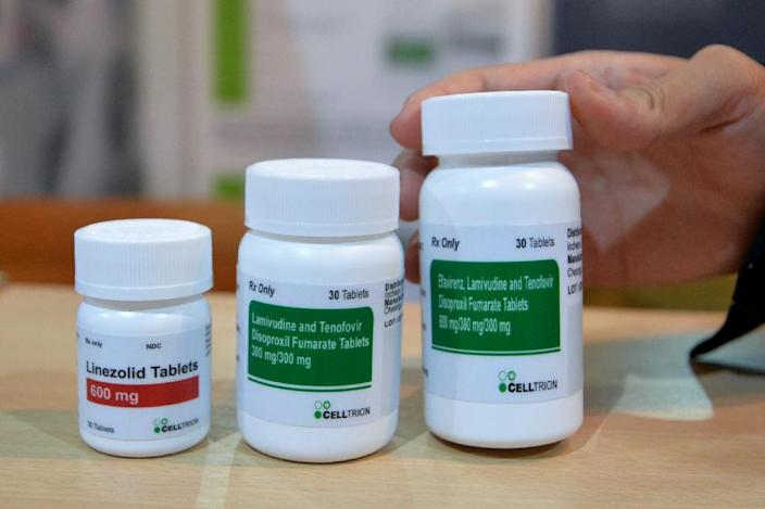 Antiretroviral (ARV) drugs are widely used to treat HIV, but UNAIDS warned that rates of AIDS deaths and new infections are not low enough, and that prevention efforts need to be stepped up (AFP Photo/SIA KAMBOU)