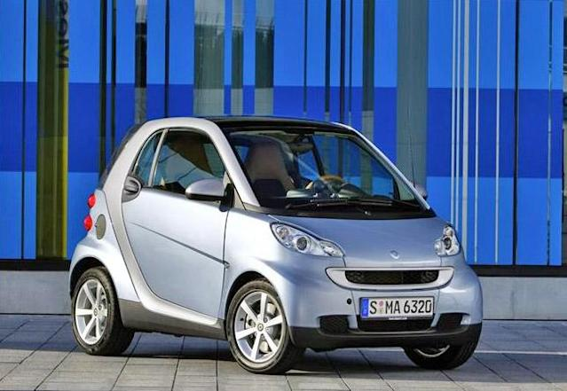 """<b>Worst Subcompact Car - <a href=""""http://autos.yahoo.com/smart/fortwo/"""" data-ylk=""""slk:2013 Smart Fortwo"""" class=""""link rapid-noclick-resp"""">2013 Smart Fortwo</a></b>: You can buy a Smart car for a very reasonable $12,420, but you'll do without power steering, power windows, air-conditioning or a radio. Adding those common items brings the cost to $15,160, a price greater than other similarly equipped subcompacts that include a backseat.<br><br>Then there's the matter of driving it. The Smart needs 14.1 seconds to get to 60 mph and once there feels as if it'll be blown off the road by every passing tractor-trailer. Its three-cylinder engine returns a frugal EPA-estimated 36 mpg combined, but requires premium fuel. Its tiny dimensions allow it to squeeze into parking spots nothing else could attempt, but its horrible single-clutch automated manual transmission makes doing so a herky-jerky and potentially bumper-tapping experience. Once under way, that slow-shifting transmission will have you bobbing forward with every upshift as if a first-time driver is rowing the gears.<br><br>You'll note we haven't yet mentioned the clown car styling, but why bother? On paper and in practice, the Smart is an oxymoron."""
