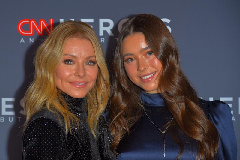Kelly Ripa and Lola Consuelos