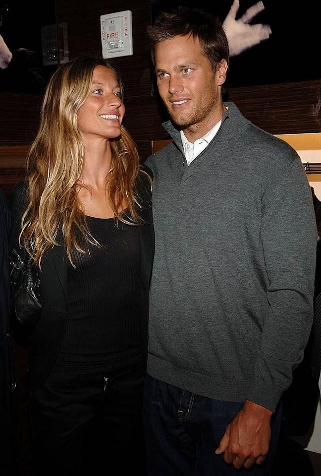 "Gisele Bundchen and Tom Brady expanded their family on December 8 with the arrival of their baby boy, Benjamin. Brady also has a 2-year-old son named John with ex-girlfriend Bridget Moynahan. Jamie McCarthy/<a href=""http://www.wireimage.com"" target=""new"">WireImage.com</a> - March 11, 2008"