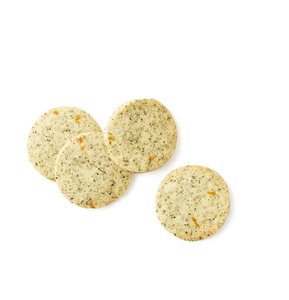 """<p>Beat the 3pm slump with a sweet and simple tea-infused afternoon treat.</p><p><em><a href=""""https://www.goodhousekeeping.com/food-recipes/a14896/earl-grey-tea-cookies-recipe-wdy0514/"""" rel=""""nofollow noopener"""" target=""""_blank"""" data-ylk=""""slk:Get the recipe for Earl Grey Tea Cookies »"""" class=""""link rapid-noclick-resp"""">Get the recipe for Earl Grey Tea Cookies »</a></em></p>"""