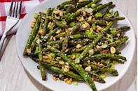 """<p>Extremely underrated.</p><p>Get the recipe from <a href=""""https://www.delish.com/cooking/recipe-ideas/a22243865/grilled-green-beans-recipe/"""" rel=""""nofollow noopener"""" target=""""_blank"""" data-ylk=""""slk:Delish"""" class=""""link rapid-noclick-resp"""">Delish</a>.</p>"""