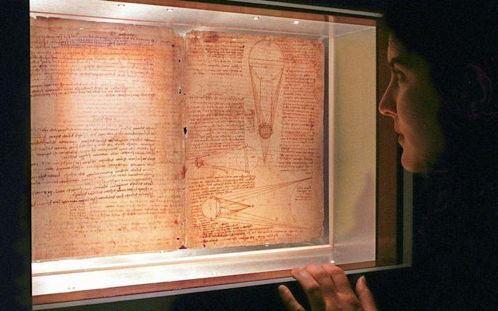 The Leicester Codex, bought at auction in 1994 for $30million - Richard Drew/ AP