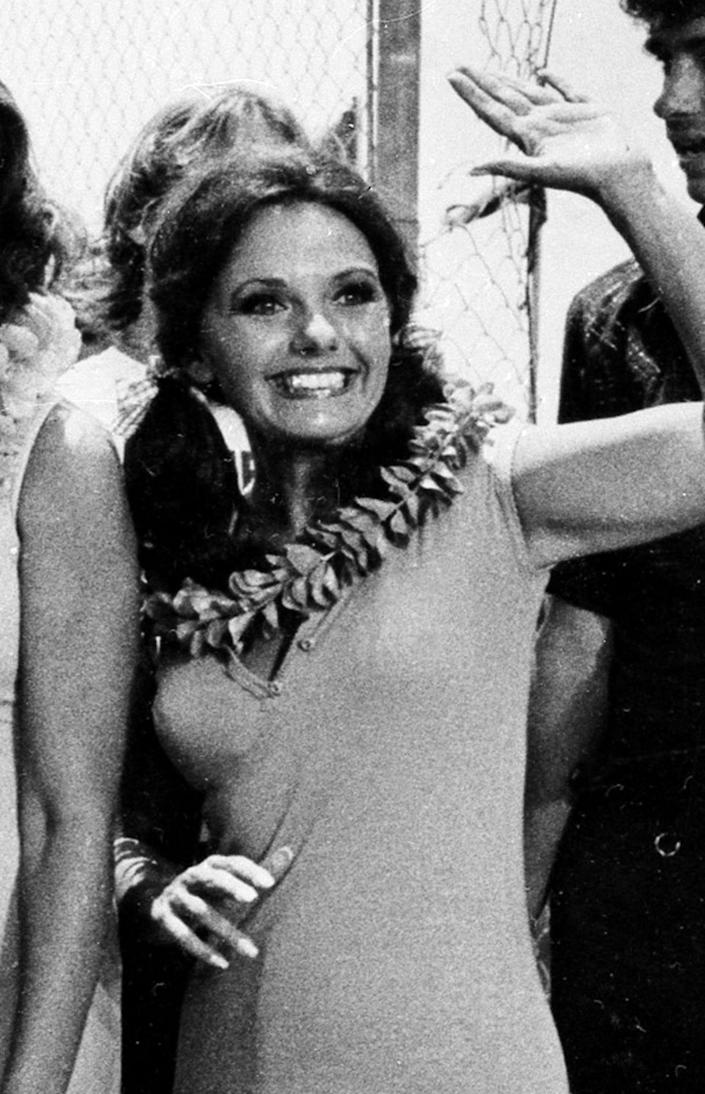 """Dawn Wells returned to the role of eternal castaway Mary Ann in the two-hour reunion show, """"The Return from Gilligan's Island,"""" in 1978."""