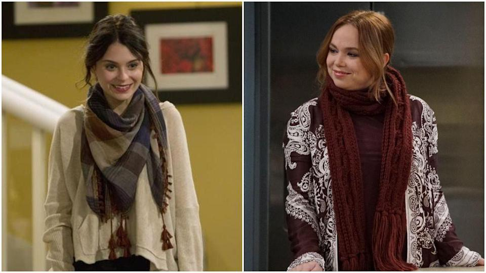 <p>Behold: another <em>Last Man Standing</em> switch-up. Kristin was played by Alexandra Krosney during the show's first season before being replaced by Amanda Fuller. Honestly, the only thing these two seem to have in common is a love for wearing insanely giant scarves indoors.</p>