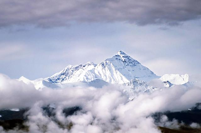 China has used the COVID-19 pandemic to clean up and survey Mount Everest. (Picture: Getty)