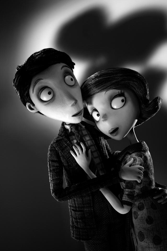 "Mr. and Mrs. Frankenstein in Walt Disney Pictures' ""Frankenweenie"" - 2012"