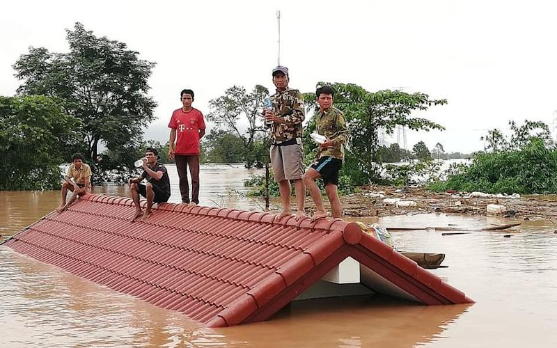 Thousands of people are in need of rescue after the dam collapse on Monday