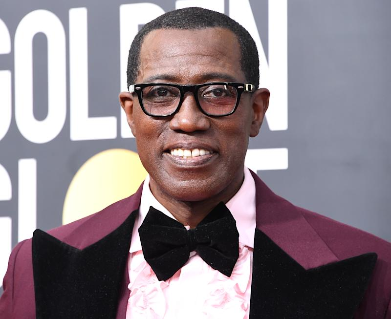 BEVERLY HILLS, CALIFORNIA - JANUARY 05: Wesley Snipes arrives at the 77th Annual Golden Globe Awards attends the 77th Annual Golden Globe Awards at The Beverly Hilton Hotel on January 05, 2020 in Beverly Hills, California. (Photo by Steve Granitz/WireImage)