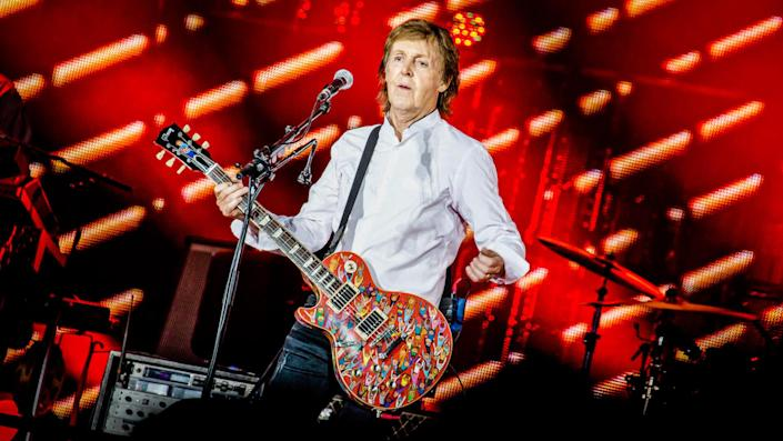 """<ul> <li><strong>Net worth: </strong>$1.2 billion</li> </ul> <p>It's probably no surprise that Paul McCartney is high up on this list, but the size of his net worth is staggering. He still earns royalties on The Beatles' song catalog, which includes some of the best-known songs he wrote, such as """"Let It Be,"""" """"Hey Jude,"""" """"Eleanor Rigby"""" and """"Yesterday.""""</p> <p><small>Image Credits: Matias Altbach/REX</small></p>"""