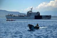 The search for the KRI Nanggala submarine involved warships and reconnaissance aircraft