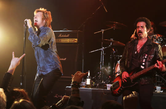 """<p><b>What's Coming Up:</b> """"They are not headed for fame,"""" deadpans creator and star Denis Leary about his fictional band, The Assassins. """"Although that's what they think they're headed for."""" Meanwhile, the death of a friend hits close to home for the aging rockers, and has repercussions for the rest of the season.<br><br><b>Spud, Sweat, and Tears:</b> On a lighter note, bassist Rehab (John Ales) will turn his 29-song cycle about the Irish Potato Famine into a <i>Hamilton</i>-esque hip-hop musical starring Campbell Scott (playing a """"hyper-show business version"""" of Campbell Scott.) <i>— Robert Chan</i><br><br><i>(Credit: Patrick Harbron/FX)</i> </p>"""