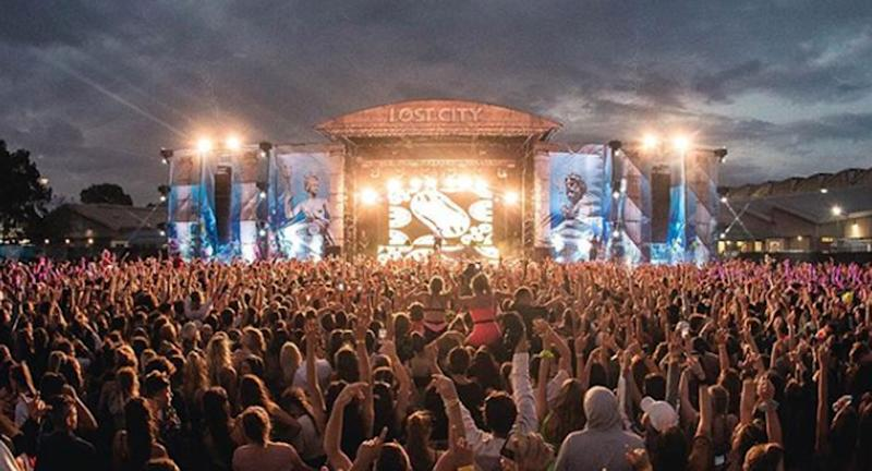 Lost City Festival is pictured in Sydney.