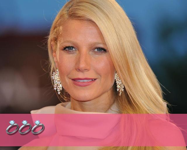 "<p><strong>Engagements:</strong> 3<br><strong>Marriages:</strong> 1<br><strong>Current status:</strong> <a href=""https://www.yahoo.com/entertainment/gwyneth-paltrow-brad-falchuk-engaged-174022028.html"" data-ylk=""slk:Engagement to Brad Falchuk"" class=""link rapid-noclick-resp"">Engagement to Brad Falchuk</a> announced Nov. 21.<br>(Photo: Getty Images) </p>"