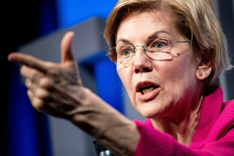 """Senator Elizabeth Warren, who is vying to become the Democratic candidate against Trump in 2020, tweeted that the Democrat-led House """"should initiate impeachment proceedings"""""""
