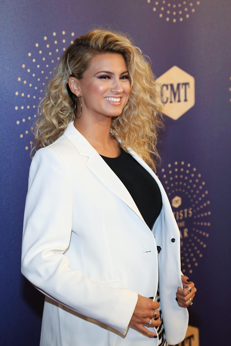 Tori Kelly attends the 2019 CMT Artists of the Year.