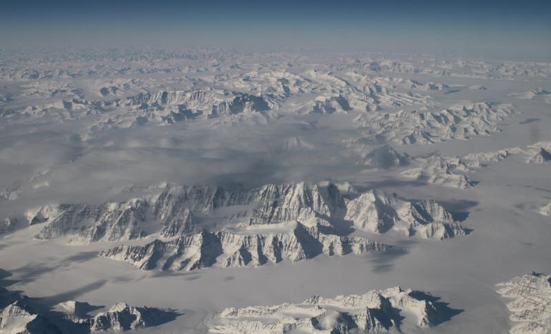 November 2016 was marked the fifth warmest since records began in 1880, which contributed to sea ice in the Arctic (pictured) shrinking to its smallest extent for that month