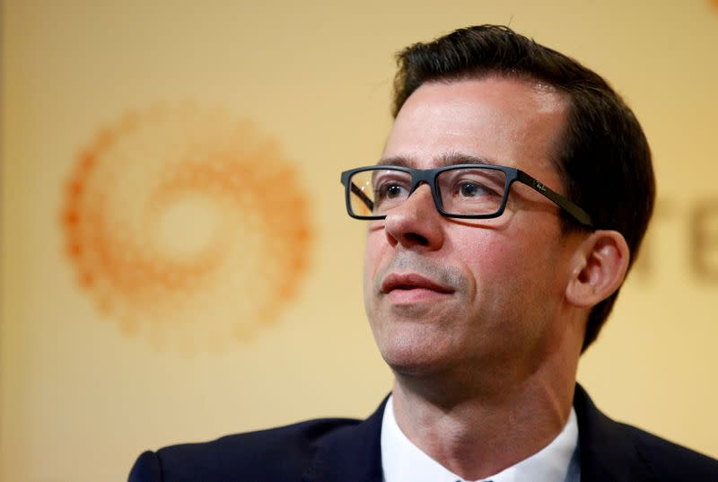 FILE PHOTO: FILE PHOTO: Gertjan Vlieghe, BoE Monetary Policy Committee Member speaks at Newsmaker at Reuters