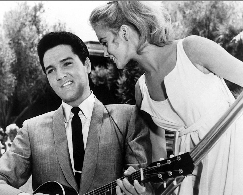 <p>Elvis Presley and Ann Margaret film <em>Viva Las Vegas</em>. The musical was one of the most successful films of the year.</p>