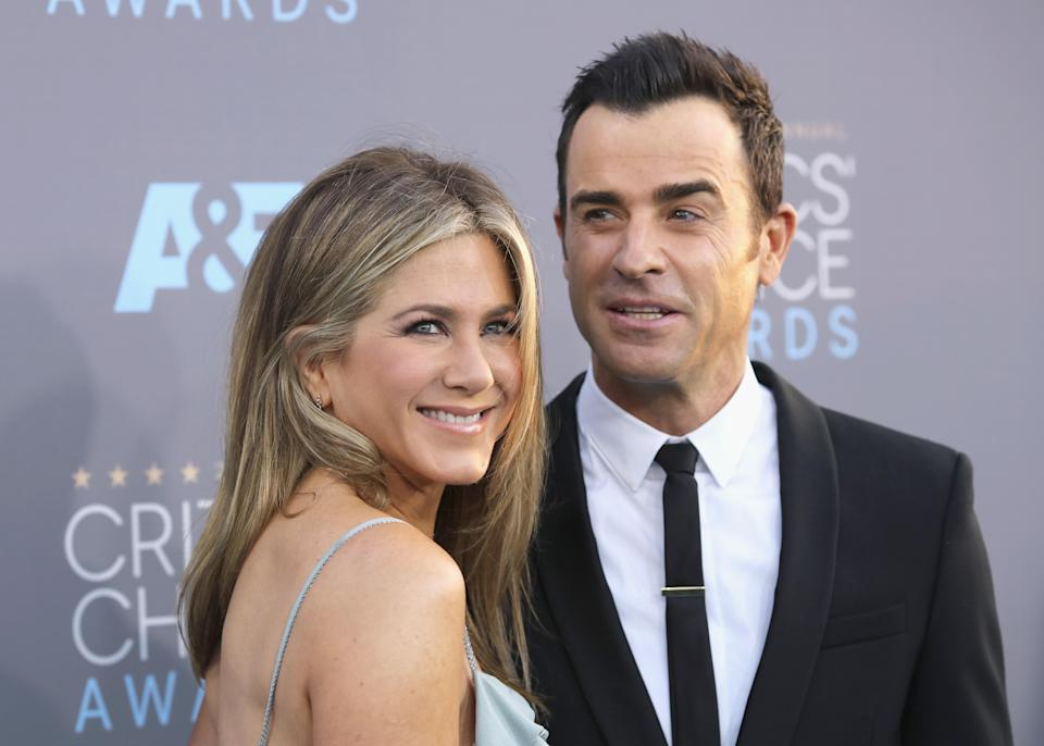 Fans are speculating that Jennifer Aniston and Brad Pitt might get back together following her split from Justin Theroux [Photo: Getty]