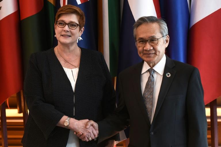 Marise Payne is also expected to lobby for the return to Australia of a Bahraini refugee detained in Thailand