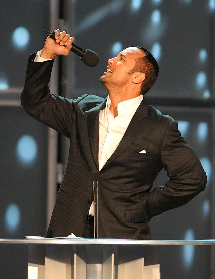 """""""Can you smell what the Rock is cookin'?!"""" George Napolitano/<a href=""""http://www.filmmagic.com/"""" target=""""new"""">FilmMagic.com</a> - March 29, 2008"""