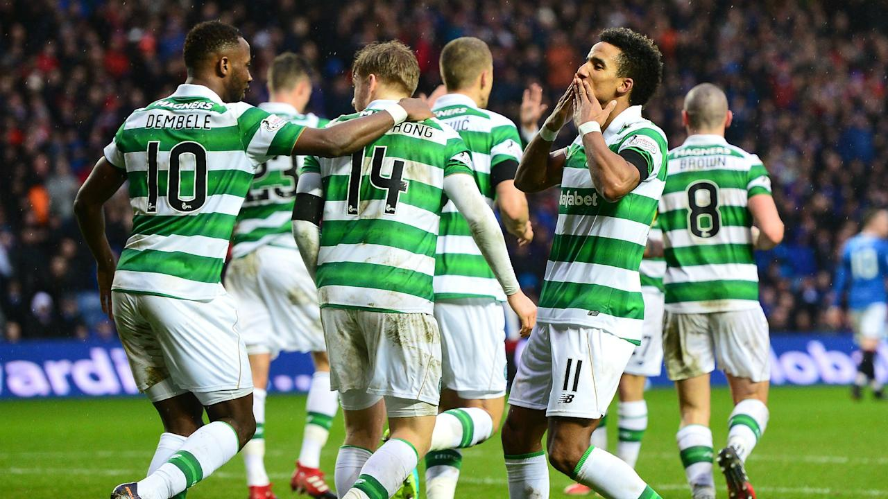 Dedryck Boyata's header sealed a 1-0 home win for the Scottish champions against St Johnstone, extending their unbeaten run to 26 domestic matches