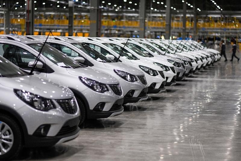 Made-In-Vietnam: The country's first homegrown cars are set to be delivered on June 17 (AFP Photo/Manan VATSYAYANA)