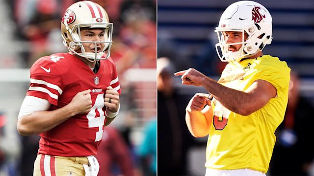 Nick Mullens went from an undrafted rookie to starting quarterback for the  49ers. Now 7645aebd9