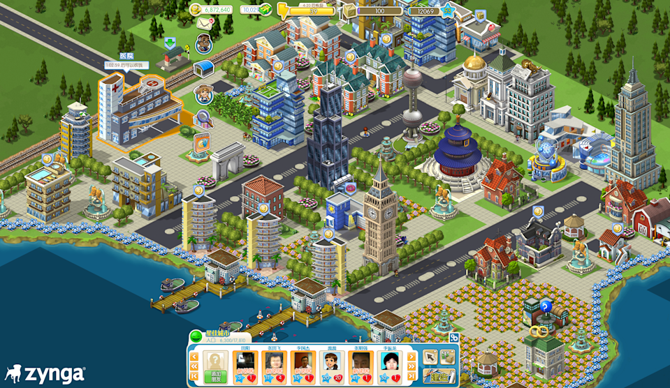 Zynga City in action