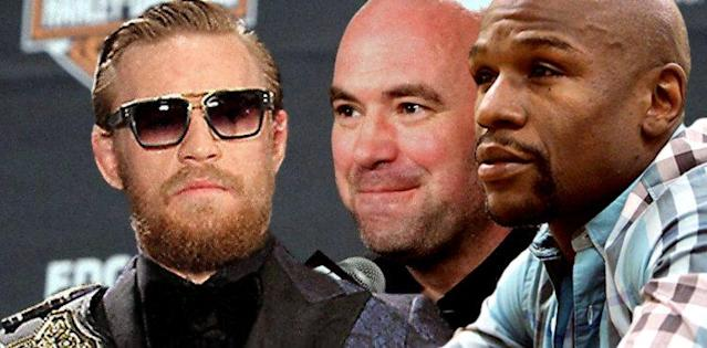 Dana White Inks Conor McGregor for Floyd Mayweather Bout