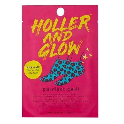 <p>It may be boot season, but that doesn't mean we should neglect our feet. The <span>Holler and Glow Purrfect Pedi Foot Mask</span> ($4) will give them soft, smooth skin all year long. </p>