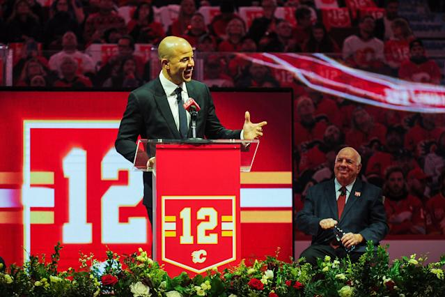 Jarome Iginla will be the fourth black elected to the Hockey Hall of Fame. (Photo by Derek Leung/Getty Images)