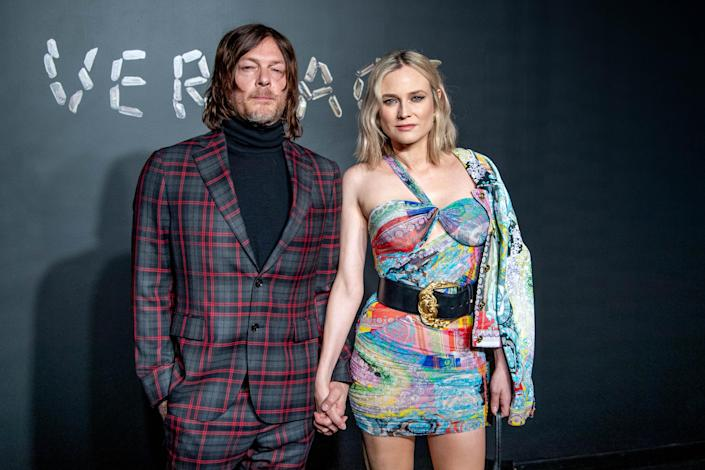 Diane Kruger and Norman Reedus welcomed their first child together, a baby girl, last fall. (Photo: Roy Rochlin/Getty Images)