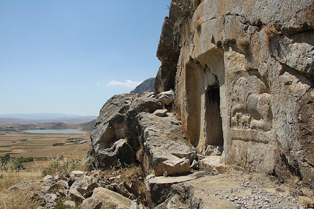 Archaeologists have discovered a Roman emperor's summer residence in Kibyratis, Turkey.