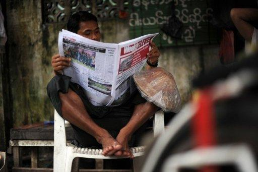 Myanmar's state press has shown scant signs of modernising since the country began its reforms last year