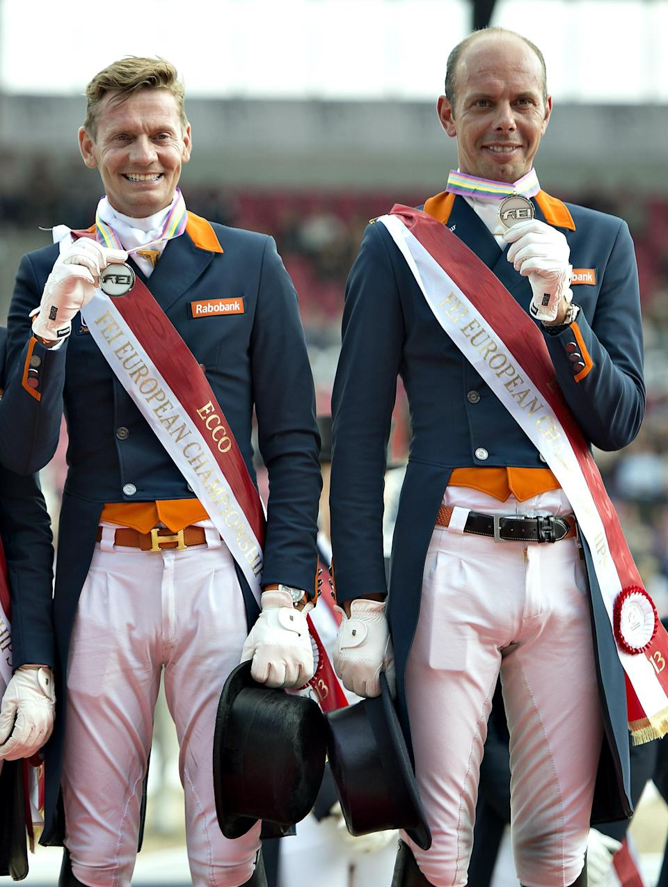 This will be the second Olympics in which the couple will be competing together in dressage, after coming in fourth in Rio. They've also both medaled at the Olympics before:Minderhoud won silver in 2008, and Gal won bronze in 2012. Oh, and they've been together for over a decade!