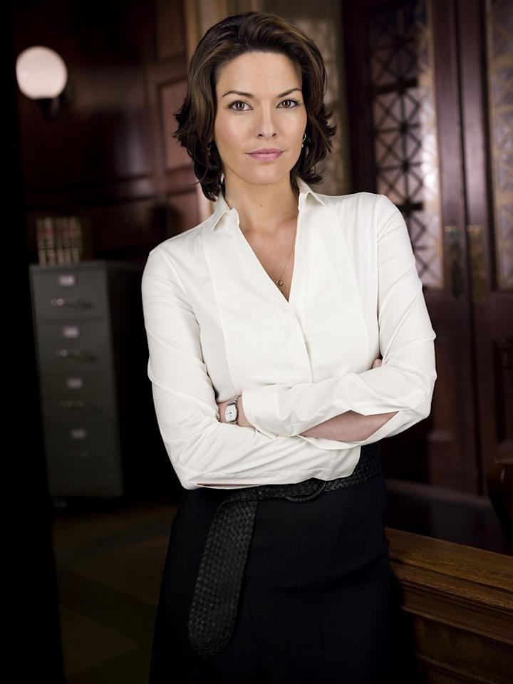 "Alana De La Garza as Connie Rubirosa on ""Law & Order."""
