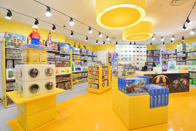 A new Lego certified stores in Tampines. (PHOTO: Lego Group)