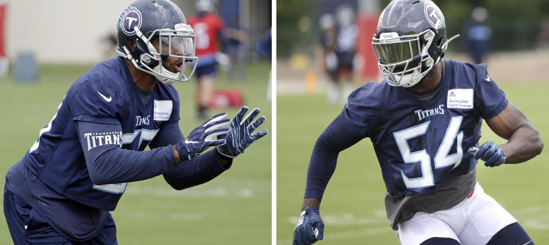 Titans young inside linebackers ready to make NFL impression