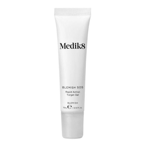 "<p><a rel=""nofollow"" href=""https://www.skinoracle.com/medik8-betagel-serum.html"">Shop now</a> <br></p><p>""I like Medik8 Blemish SOS for tackling new, inflamed blemishes. It contains a punchy blend of ingredients that work in synergy to reduce redness and also diminish the dark marks most blemishes leave behind."" </p><p><strong>- </strong><strong>Dr Sam Bunting, Cosmetic Dermatologist and founder of <a rel=""nofollow"" href=""https://www.drsamskincareclub.com"">Dr Sam Skincare Club</a></strong>.</p>"