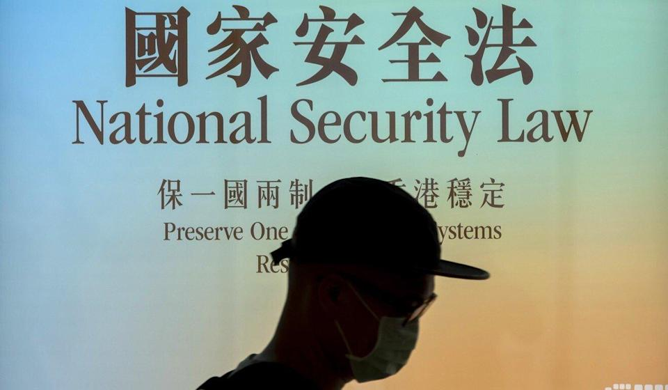The national security law came into force on June 30 last year. Photo: Bloomberg
