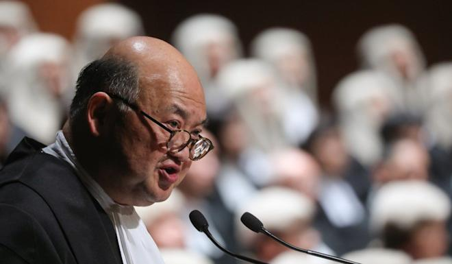 Chief Justice Geoffrey Ma says the judiciary will consider allowing certain types of proceedings to resume soon. Photo: Sam Tsang