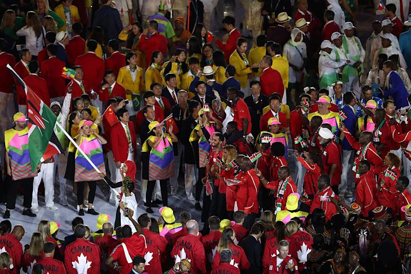 Kenyan track manager Michael Rotich reportedly bailed on the Opening Ceremony. (Lars Baron/Getty Images)