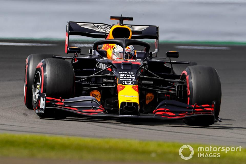 "P3 Max Verstappen, Red Bull Racing RB16 <span class=""copyright"">Steven Tee / Motorsport Images</span>"