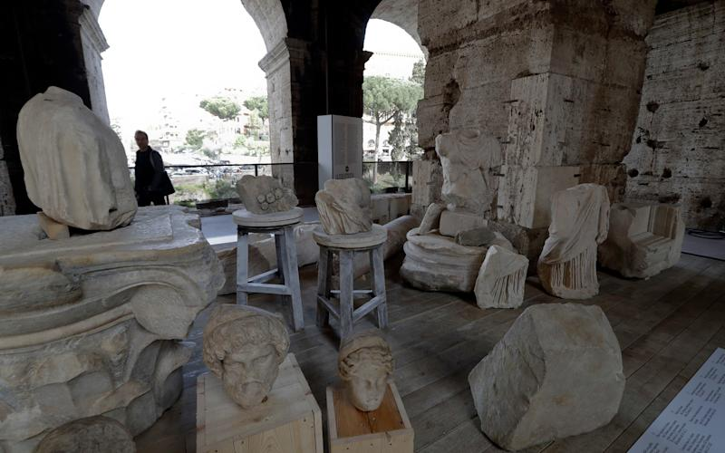 The new exhibition, Colosseum - An Icon, opens on March 8 and runs until January 2018. - Credit: Andrew Medichini/AP