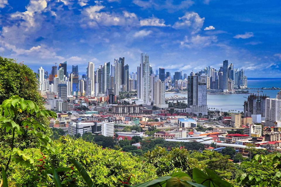 The View from Ancon Hill - Panama City, Panama