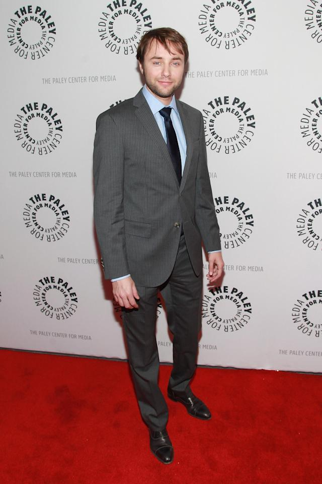 "NEW YORK, NY - APRIL 23: Actor Vincent Kartheiser attends The Paley Center For Media Presents: ""Mad Men"" Season 5 at The Paley Center for Media on April 23, 2013 in New York City. (Photo by Taylor Hill/Getty Images)"