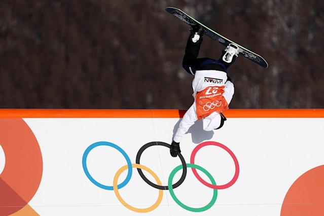<p>PYEONGCHANG-GUN, SOUTH KOREA – FEBRUARY 08: Yuri Okubo of Japan in action during Slopestyle training ahead of the PyeongChang 2018 Winter Olympic. (Getty Images) </p>