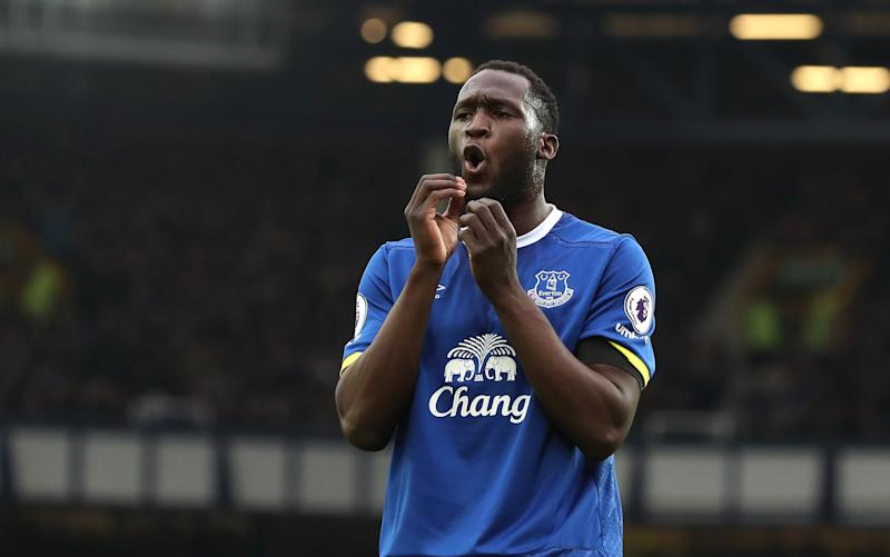 Romelu Lukaku gave a candid interview questioning Everton's transfer policy - Copyright (c) 2017 Rex Features. No use without permission.